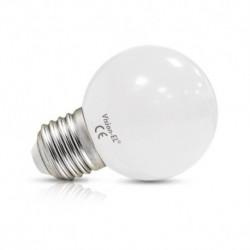 Ampoule LED E27 Bulb 1W 3000°K Blister x 2