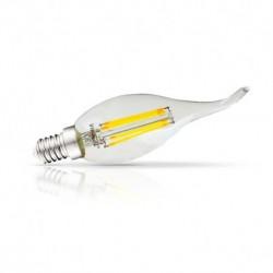 Ampoule LED E14 Filament Coup de vent 4W 2700°K Blister x 3