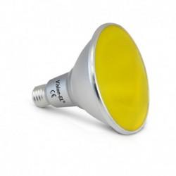 Miidex Lighting - {reference} - Ampoule LED E27 PAR38 16W Jaune