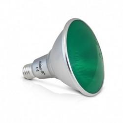 Miidex Lighting - {reference} - Ampoule LED E27 PAR38 16W Vert