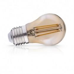 Miidex Lighting - {reference} - Ampoule LED E27 G45 Filament 4W 2700°K Golden Boite