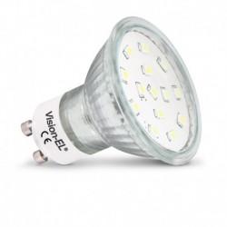 Ampoule LED GU10 dichroïque 4W 3000°K