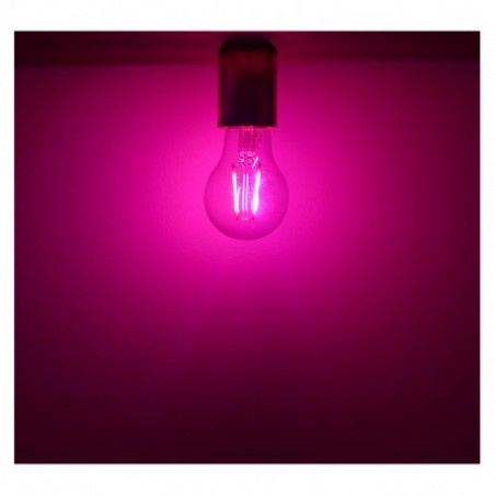 Miidex Lighting - {reference} - Ampoule LED E27 Filament 2W Rose