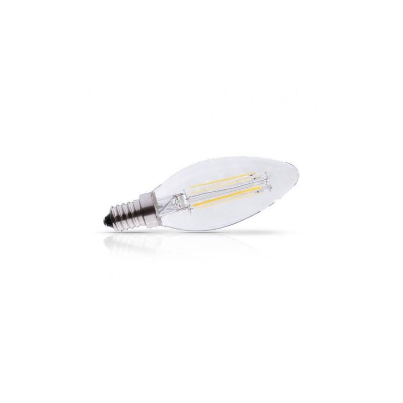 Ampoule Led E14 Filament Flamme  4W 2700°K