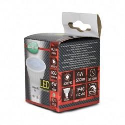 Miidex Lighting - {reference} - Ampoule LED GU10 Spot 6W 4000°K