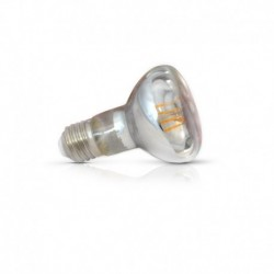 Miidex Lighting - {reference} - Ampoule LED E27 R63 Filament 5W 2700°K
