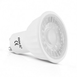 Miidex Lighting - {reference} - Ampoule LED GU10 Spot 5W Dimmable 2700°K