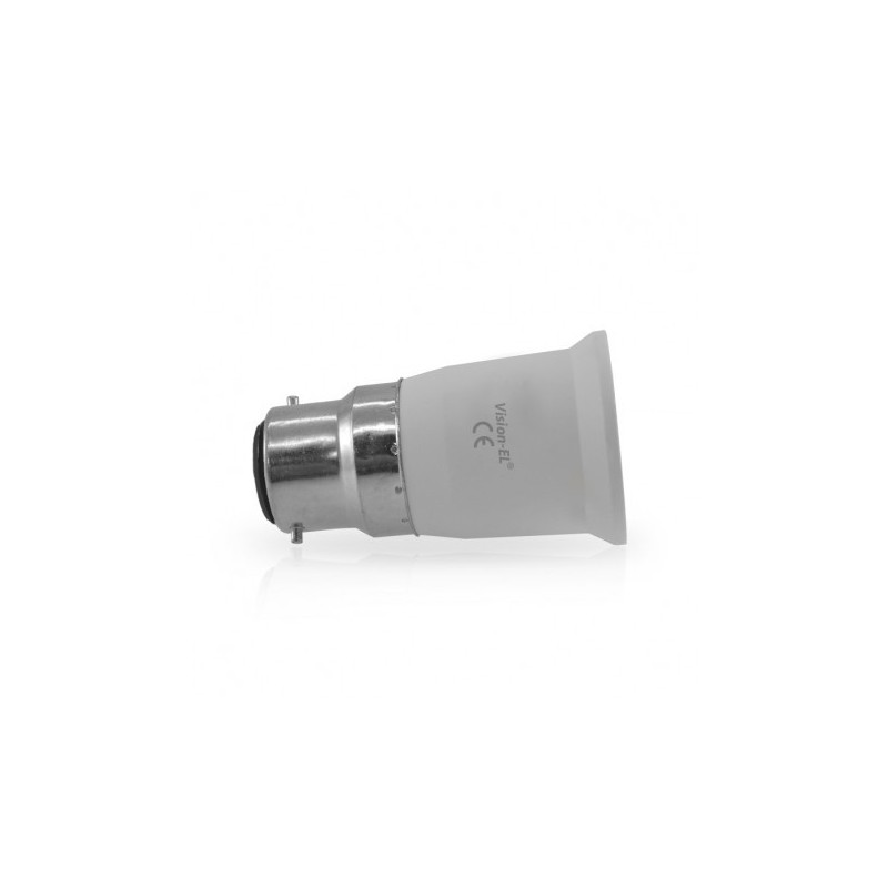 Miidex Lighting - {reference} - Adaptateur de culot B22 a E27