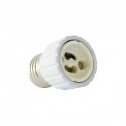 Miidex Lighting - {reference} - Vision-el   Adaptateur de culot E27 a GU10