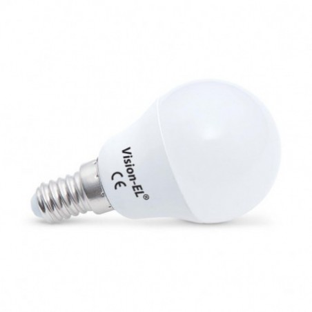 Miidex Lighting - {reference} - Ampoule LED E14 Bulb P45 6W 4000°K