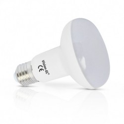 Miidex Lighting - {reference} - Ampoule LED E27 Spot R80 10W 3000°K