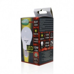 Miidex Lighting - {reference} - Ampoule LED E27 Bulb 12W 3000°K