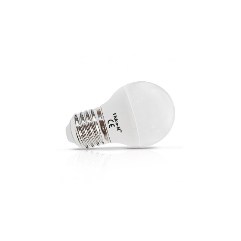 Miidex Lighting - {reference} - Ampoule LED E27 Bulb G45 4W 4000°K