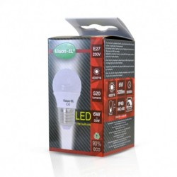 Miidex Lighting - {reference} - Ampoule LED E27 Bulb G45 6W 4000°K