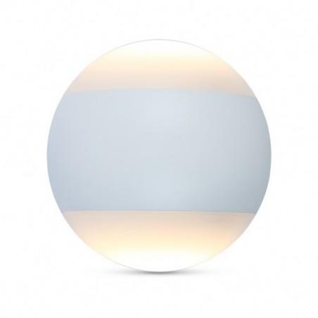 Applique Murale LED 10 Watt 3000°K Blanc IP65