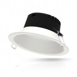 Miidex Lighting - {reference} - Downlight LED Basse Luminance Ø233mm 21W 6000°K