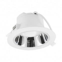 Miidex Lighting - {reference} - Downlight LED Blanc rond Basse Luminance Ø230mm 25W 4000°K