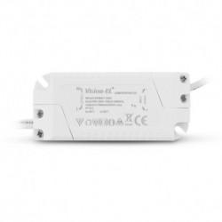 Miidex Lighting - {reference} - Plafonnier LED Blanc Ø85 3W 3000°K