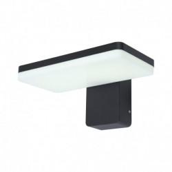 Miidex Lighting - {reference} - Applique Murale LED 12 Watt 230V 3000°K Anthracite IP65