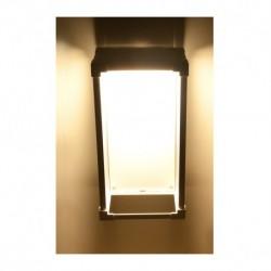 Miidex Lighting - {reference} - Applique Murale LED 9 Watt 230V 3000°K Blanc IP65