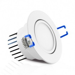 Spot LED Orientable  7W 3000°K + Alimentation Electronique