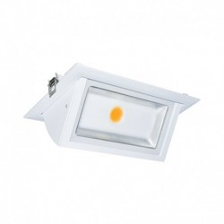 Spot LED Rectangulaire Inclinable avec Alimentation Electronique 40W 4000°K