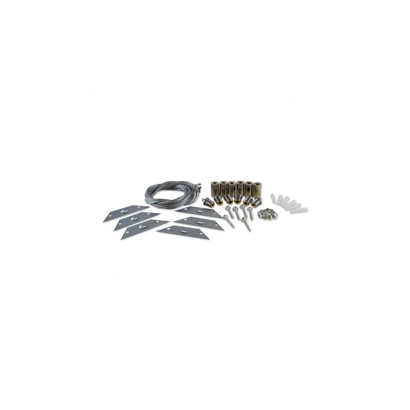 Kit de suspension pour Plafonniers 30 x 120 cm