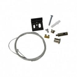 Miidex Lighting - {reference} - Kit de Suspension pour Rail Noir 2 m