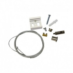 Miidex Lighting - {reference} - Kit de Suspension pour Rail Blanc 2 m