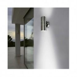 Miidex Lighting - {reference} - Vision-El | Applique Murale LED GU10  x2 Inox