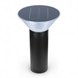 Potelet Solaire Conique LED 4W 3000°K Noir 380mm