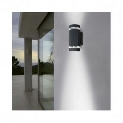 Vision-el | Applique Murale LED GU10 x 2 Gris Anthracite