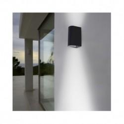 Miidex Lighting - {reference} - Vision-el   Applique Murale LED GU10 x 2 Gris Anthracite