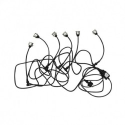 6W 12V Rouge Rond IP67