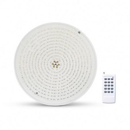 Miidex Lighting - {reference} - Projecteur LED Piscine PAR56 12VAC 32W RGB + Télécommande RF