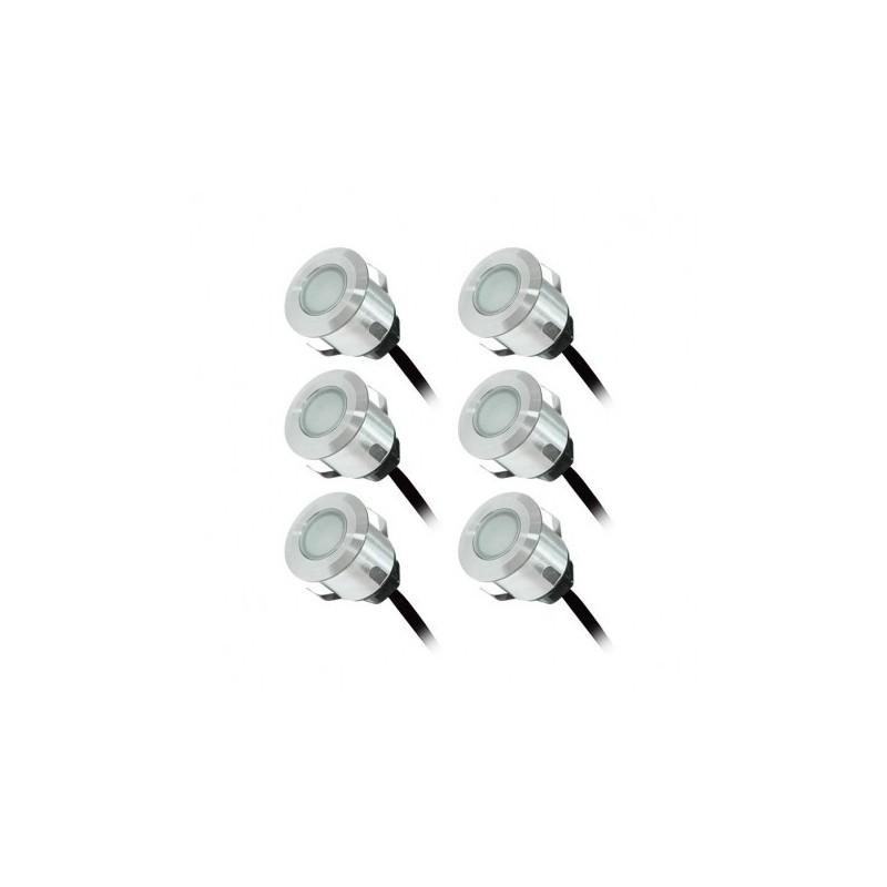 KIT SPOT LED TERRASSE 6x0