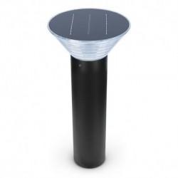 Potelet Solaire Conique LED 4W 4000°K Noir 500mm