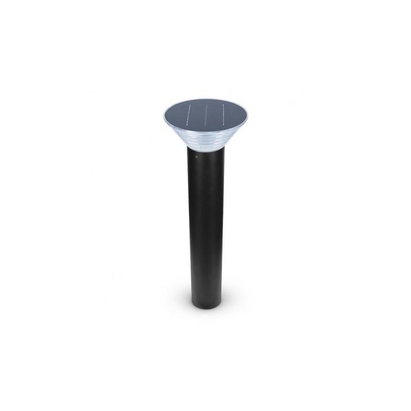 Potelet Solaire Conique LED 4W 4000°K Noir 800mm