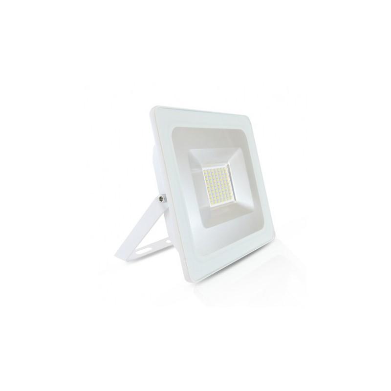 Projecteur LED Plat Blanc 50W 3000°K IP65