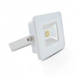 Miidex Lighting - {reference} - Projecteur LED Plat Blanc 10W 3000°K IP65