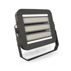 Miidex Lighting - {reference} - Projecteur Exterieur LED Gris 4000°K 300W 230V IP65