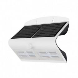 Miidex Lighting - {reference} - Applique Murale LED Solaire 6.8W 4000°K Blanc + Détecteur