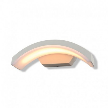 Applique Murale Curviligne LED 6W 3000°K Blanc IP54