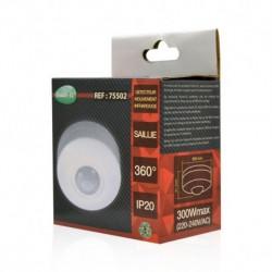 Miidex Lighting - {reference} - Détecteur de mouvement IR SAILLIE IP20 360°
