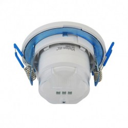 Miidex Lighting - {reference} - Détecteur de mouvement infrarouge LED encastrable 360°