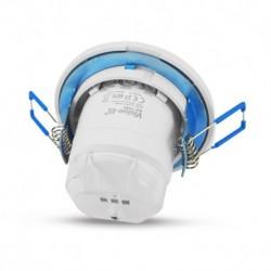 Miidex Lighting - {reference} - Détecteur de mouvement radio fréquence 5.8Ghz LED encastrable 360°