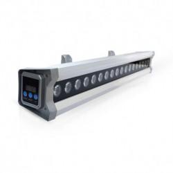 Miidex Lighting - {reference} - Wall Washer LED Contrôleur DMX Intégré 20W 6000°K