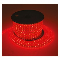 Bobine led 5050 50 metres Rouge 8w/m 230V ip65