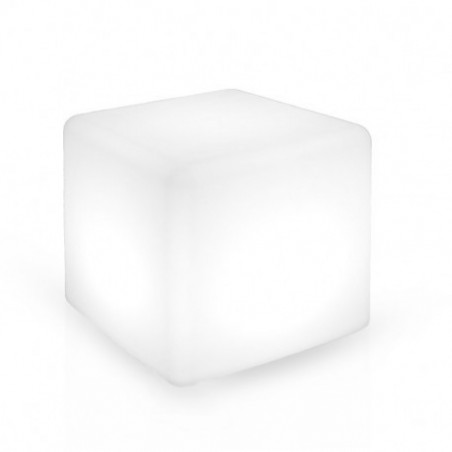 Miidex Lighting - {reference} - CUBE LUMINEUX RGB + TELECOMMANDE 40*40*40