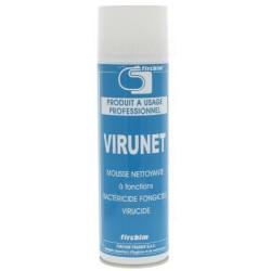 FIRCHIM - {reference} - VIRUNET - Mousse active désinfectante pour climatiseur et surfaces diverses